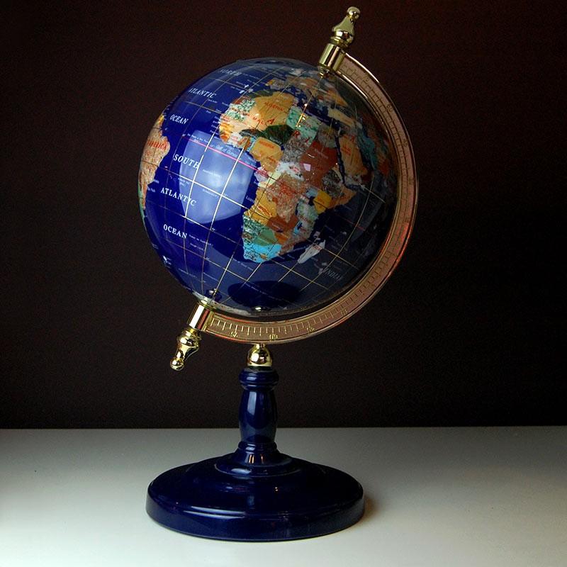 Mappamondo in pietre dure blitz bovisa milano vendita for Regalo oggetti usati